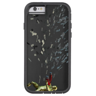 Marketing Concept with Businessman Tough Xtreme iPhone 6 Case