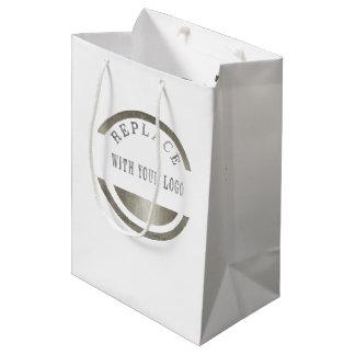 Marketing Promotion Business Place YOUR LOGO Medium Gift Bag