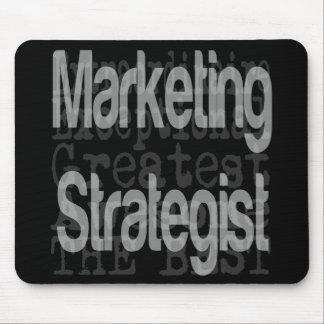 Marketing Strategist Extraordinaire Mouse Pad