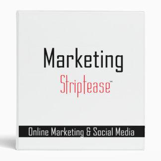 Marketing Striptease Training Binder
