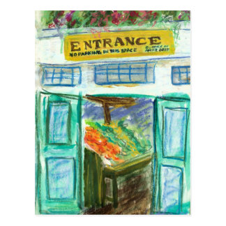 Marketplace Entrance Postcard (Pike Place Market)