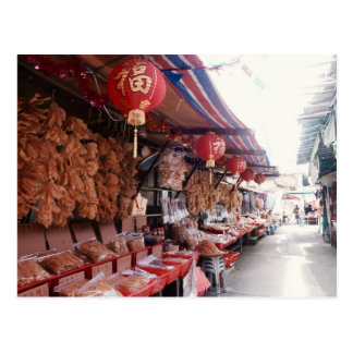 Markets. Postcard
