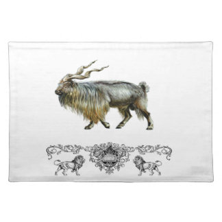Markhor power placemat