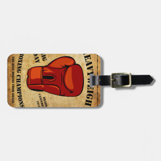 Marking HEAVYWEIGHT of luggages Luggage Tag