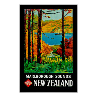Marlborough Sounds Poster