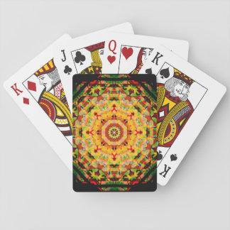 Marley Colors Mandala Playing Cards