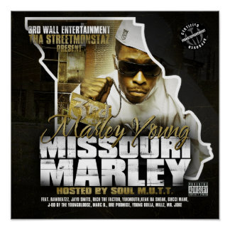 MARLEY YOUNG A.K.A  MISSOURI MARLEY POSTER