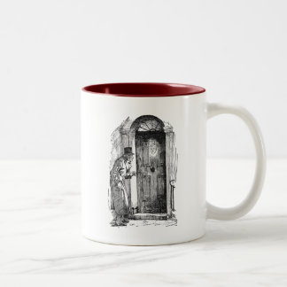 Marley's Face Two-Tone Coffee Mug
