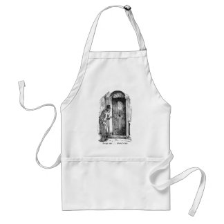 Marley's Face (with text) Apron