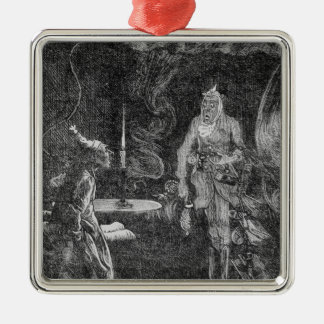 Marley's Ghost Metal Ornament