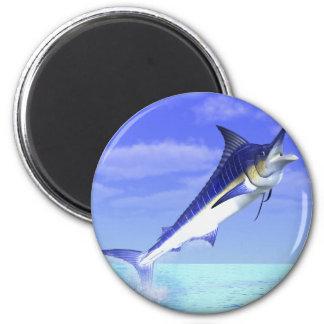 Marlin 2 Inch Round Magnet