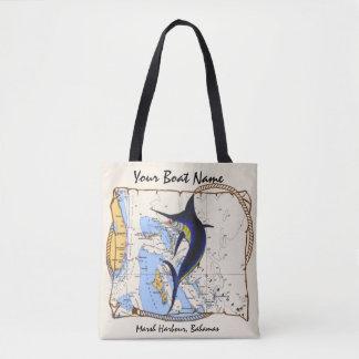Marlin Bahamas Tote Bag