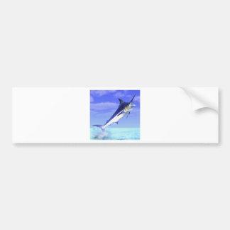 Marlin Car Bumper Sticker