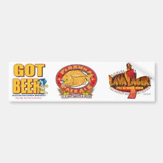 Marlin Davidsons Brewery - Got Beer Car Bumper Sticker