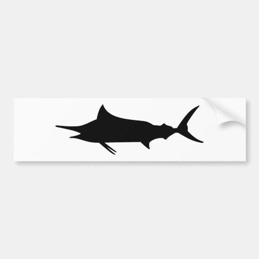 Marlin Fish Bumper Sticker