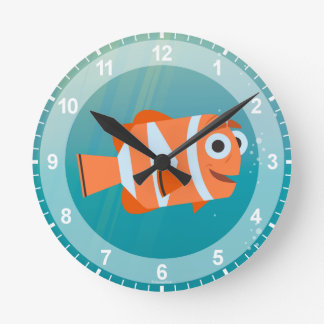 Marlin | Ocean Here We Come! Wall Clock