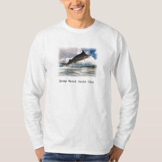 marlin painted, Spray Beach Yacht Club Tee Shirts