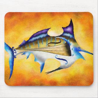 Marlinissos V1 - violinfish Mouse Pad