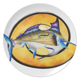 Marlinissos V1 - violinfish witout back Dinner Plate