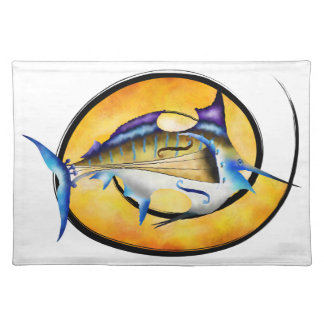 Marlinissos V1 - violinfish witout back Placemat