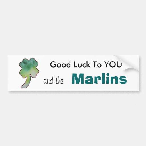 Marlins Bumper Sticker