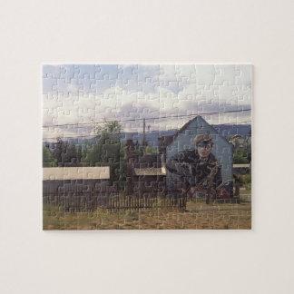 Marlon Brando Washington State Jigsaw Puzzle