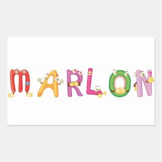 Marlon Sticker