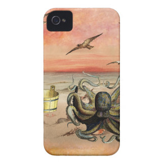 MARMALADE SUNSET AT THE BEACH Case-Mate iPhone 4 CASES