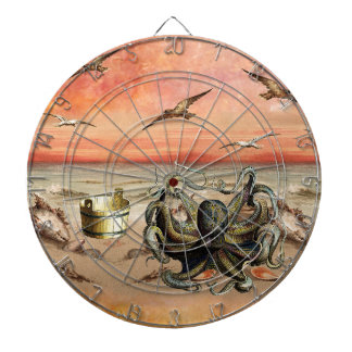 MARMALADE SUNSET AT THE BEACH DARTBOARD
