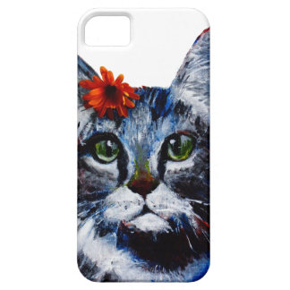 Marmalade, the cute cat who wears a flower. iPhone 5 cover