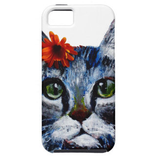 Marmalade, the cute cat who wears a flower. iPhone 5 covers