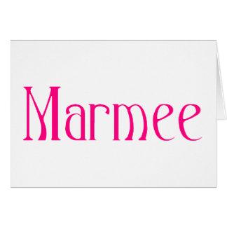 marmee card