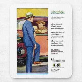 Marmon 68 - Vintage Automobile Advertisement Mousepad