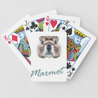 Marmot Day - Appreciation Day Bicycle Playing Cards