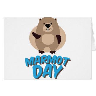 Marmot Day - Appreciation Day Card