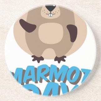 Marmot Day - Appreciation Day Coaster