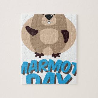 Marmot Day - Appreciation Day Jigsaw Puzzle