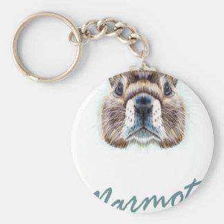 Marmot Day - Appreciation Day Keychain