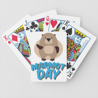 Marmot Day - Appreciation Day Poker Deck