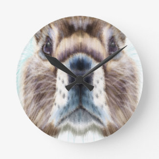 Marmot Day - Appreciation Day Round Clock