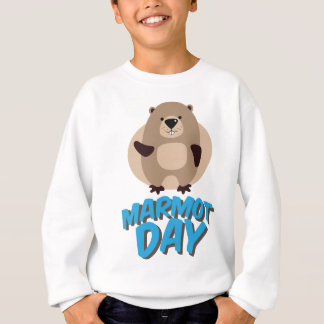 Marmot Day - Appreciation Day Sweatshirt
