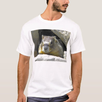 Marmot in Rock Den T-shirt