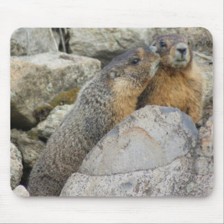 Marmot Love Mouse Pad
