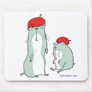 Marmots in Hats -- mousepad