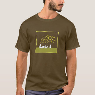 Marmots look at flying birds  Shirt