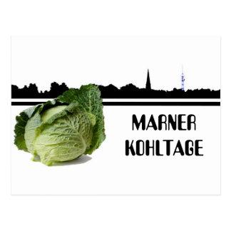 Marner Kohl days Postcard