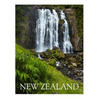 Marokopa waterfall, New Zealand Postcard