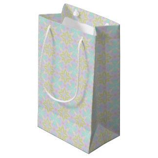 Marookoko Tile Pastel Soft Seamsless Pattern Small Gift Bag