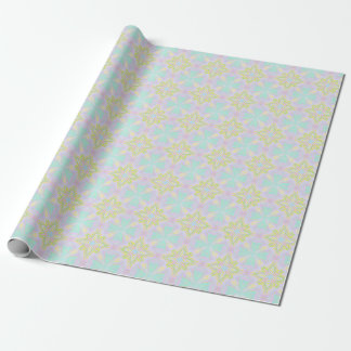 Marookoko Tile Pastel Soft Seamsless Pattern Wrapping Paper