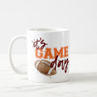 Maroon and Orange Game Day Mug